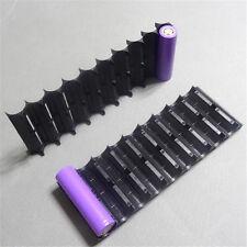 2X 10 plastic holder 18650 battery holder Cylindrical cell bracket plastic cases