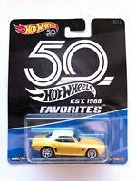 Hot Wheels 2018 '69 Camaro 50th Favorites 9/10 RUBBER TYRES Mattel Diecast FLF44