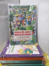 POEMAS DE AMOR Y MUSICA DE CAMARA - GUILLEN Spanish Poetry Libros Espanol