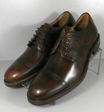 302079 TSP50 Men's Shoes Size 9 M Brown Leather Lace Up H.S. Trask
