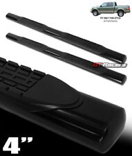 "4"" HD BLACK SIDE STEP NERF BARS RUNNING BOARDS 2001-2003 F150 SUPERCREW/CREW CAB"
