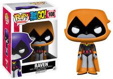 "POP! VINYL ~ Teen Titans Go! - Raven (Orange) 3.75"" Vinyl Figure (Funko) #NEW"