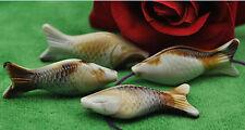 Wholesale 15pcs acrylic  Antique colour fish Charms spacer beads 53MM