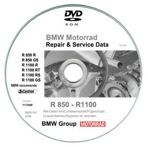 Bmw R850 C - R1200 C (1997-2004) manuale di riparazione su cd - RARO!
