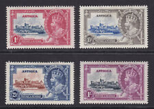 Antigua. 1935. SG 91-94, Silver Jubilee. Mounted mint.