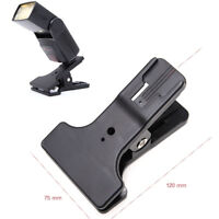 Support Pince Fixation Clip Monture Sabot Flash pour Lampe Vidéo LED Flash