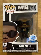 Funko Pop - Men In Black - Agent J (Will Smith) #718 Funko Shop (Corner Damage)