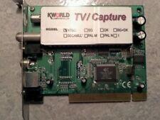 Kworld computer TV Capture board. PCI. computer hardware - Rare Vintage