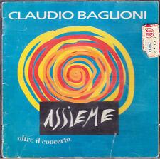 Assieme. Oltre il concerto - Claudio Baglioni - CD musicale