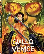 GIALLO IN VENICE Code Red BLU-RAY Scorpion RARE Slipcover/Poster GORE A VENEZIA
