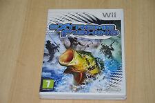 jeu Nintendo Wii Extreme Fishing - complet en VF