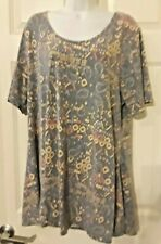 LulaRoe Women's 3XL A-Line Tunic/Shirt 48 Inch Chest Made In The U.S.A.