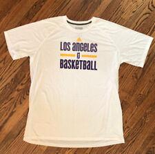 Adidas Los Angeles Sparks WNBA Team Color Logo T-Shirt ~ White Size 2XL Tall