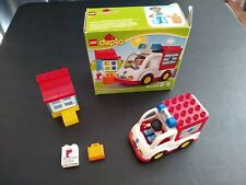 Lego Duplo Ambulance Set (#10527) - 2-5 years, 14 pieces, used, all pieces