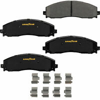 Goodyear Brakes GYD1691 Truck and SUV Carbon Ceramic Rear Disc Brake Pads Set