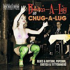 EXOTIC BLUES & RHYTHM-VOL.7+8  BOOM-A-LAY & CHUG-A-LUG  CD NEU