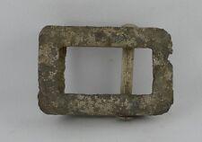GERMAN WWII WEHRMACHT NCO BELT BUCKLE SMALL ZINC RARE WAR RELIC