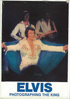 SUPER RARE ELVIS PRESLEY BOOK -PHOTOGRAPHING THE KING -SEAN SHAVER- SIGNED !