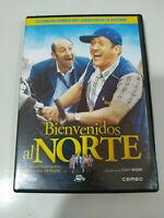 BIENVENIDOS AL NORTE DVD + EXTRAS DANY BOON ESPAÑOL FRANCAIS Region 2