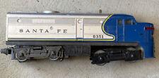 1970s Lionel Santa Fe 8351 Alco Diesel Engine