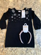 Gymboree Girl's Sweater Dress With Headband Set, Holiday, NWT ($48)