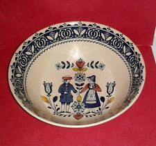 Staffordshire Old Granite * Hearts and Flowers * Vegetable Bowl Made in England