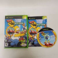 Simpsons: Hit & Run Xbox Complete  Fast Shipping