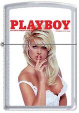 Zippo Playboy November 1994 Cover Satin Chrome Windproof Lighter NEW RARE
