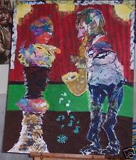 """""""Detente Fantasy"""" Acrylic on Board ORIGINAL PAINTING by The Seller!!!"""