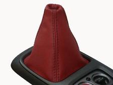 Si adatta Honda S2000 D in pelle rossa GEAR Ghetta Nero Stitch Gaitor