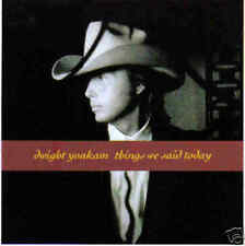 DWIGHT YOAKAM-THINGS WE SAID TODAY SINGLE VINILO 1990