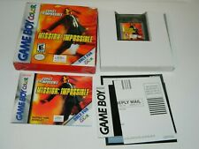 Mission: Impossible for Game Boy Color GBC CIB COMPLETE