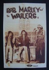 BOB MARLEY & THE WAILERS TUFF GONG POSTER / Reggae Rasta