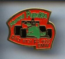 RARE PINS PIN'S  .. AUTO CAR F1 RALLYE / BMW PEREIRA TEAM