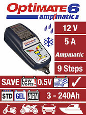 Optimate 6 Ampmatic 5amp Charger UK Supplier & Warranty NEW