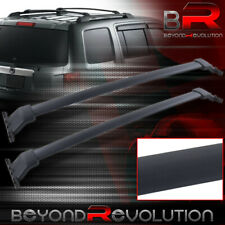 Black Top Mount Roof Rack Crossbar Rail For 09 10 11 12 13 14 15 Honda Pilot