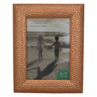 """Northlight 9.5"""" Contemporary Rectangular 5"""" x 7"""" Photo Picture Frame - Brown"""