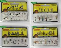 BNIB N Gauge Woodland Scenics People / Figures / Animals - Over 55 Variations