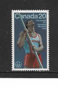 1976 Canada - Montreal Olympics - Javelin - Single Stamp - Mint & Never Hinged.