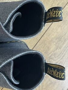 Sparkly Doctor Martin Boots Size 9