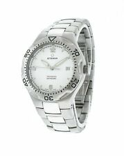 Eterna Monterey 40mm Stainless Steel Quartz Men's Watch 1600-41-10