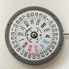 SII NH36A Movement compatible 4R36 - 3 o'clock White Date-Day Wheel Disc