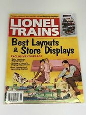 Classic Toy Trains Lionel Trains Best Layouts & Store Displays Winter 2015
