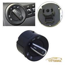 Chrome Euro Switch Front Headlight Light For VW Jetta Golf GTI MK5 MK6 Tiguan