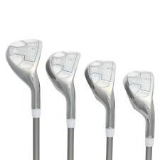 "Petite Ladies Powerbilt Golf EX-550 Hybrid Iron Set (4-7) Lady ""L"" Flex Clubs"