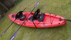 Hobie Mirage Tandem Kayak Canoe