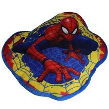 Children's Branded Character Shaped Plush Cushion - Marvel Spiderman