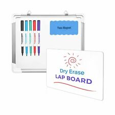 Dry Erase White Board Lap Hanging Writing Drawing Comfortable Perfect Fit Safe