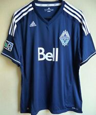 Women's MLS Adidas Vancouver Whitecaps F.C. Soccer Jersey XL NEW