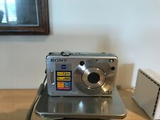 Sony Cyber-shot DSC-W70 7.2MP Digital Camera Silver